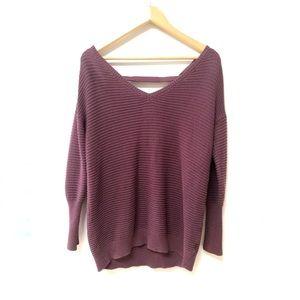 2/$15 ✨ DYNAMITE Open Back Knit Sweater